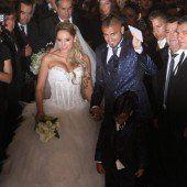 Juventus-Kicker Vidal heiratete in Chile