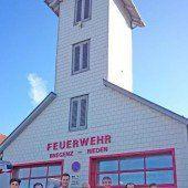 Gerätehaus von Feuerwehr selbst saniert
