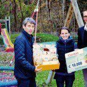 Ölz Meisterbäcker unterstützt Caritas