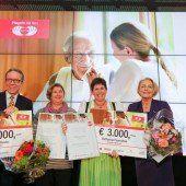 Vorarlbergs PflegerInnen mit Herz geehrt