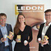 Ledon spendet 1250 LED-Lampen