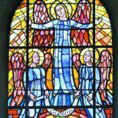 Ein Glasfenster von Fritz Krcal (1888–1983)