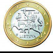 Am 1. Jänner führt Litauen den Euro ein