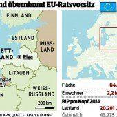 Lettland übernimmt die EU-Ratspräsidentschaft