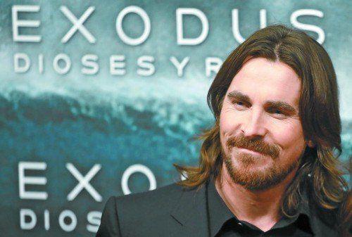 Hat sich für den neuen Film in die Bibel vertieft: Christian Bale. Foto: ap