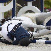 Onassis Pferd nach Sturz eingeschläfert