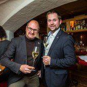 Helmuth Hirschegger (l.) und Thomas Breitwieser (Schlumberger).
