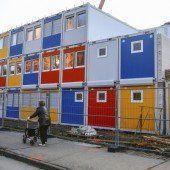 Wohncontainer für die Asylquote