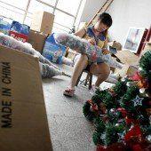 Weihnachten mit Plastik