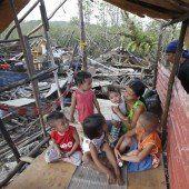 Tropensturm Hagupit hat Manila verschont
