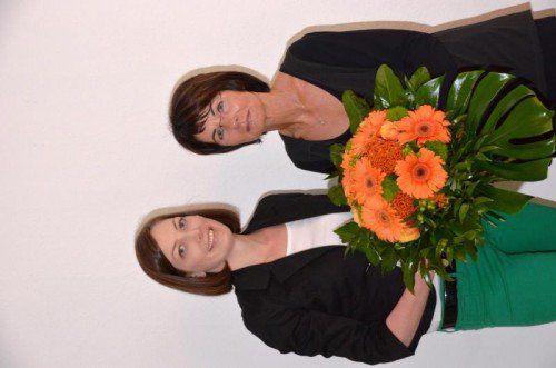 Inge Sulzer (r.) wird von FB-Obfrau Veronika Marte unterstützt.