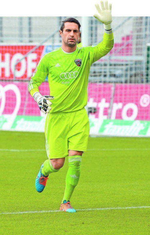 Ingolstadt-Torhüter Ramazan Özcan blieb schon zum zehnten Mal in dieser Saison ohne Gegentreffer. Foto: gepa