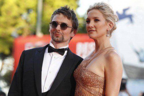 Kate Hudson, die Tochter von US-Schauspielerin Goldie Hawn, und Muse-Sänger Matthew Bellamy haben sich getrennt. Foto: Reuters