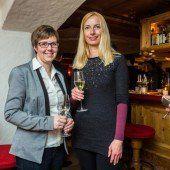 Ländle-Marketingdamen: Claudia Immler (l.) mit Sabine Hagspiel.