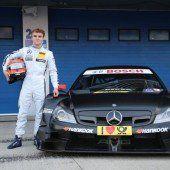 Mercedes-Test von Lucas Auer
