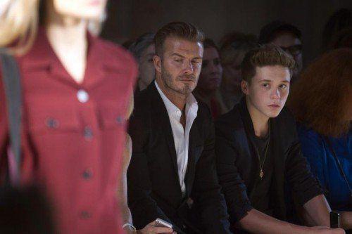 Medienberichten zufolge blieben David Beckham und sein Sohn unverletzt. Foto: Reuters