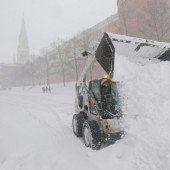 Moskau kämpft gegen die Schneemassen