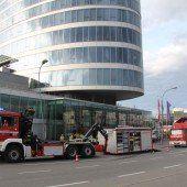 Wegen Chlorgasaustritt: Alarm im Panoramahaus
