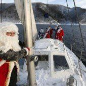 Väterchen Frost hisst die Segel