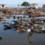 Trauer beim Gedenken an Tsunami-Katastrophe