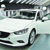 Drei Millionen Mazda6