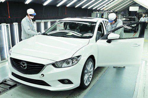 Millionen-Seller: Produktionsjubiläum für den Mazda6. Foto: werk