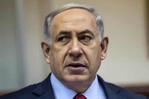Netanjahu stellt sich im März der Wiederwahl.  FOTO: REUTERS