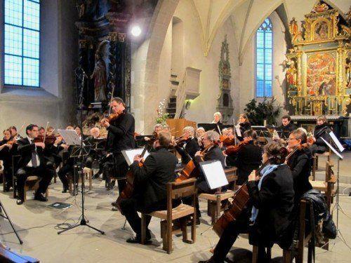 Orchesterverein Götzis beim Konzert in der Alten Kirche.  Foto: JU