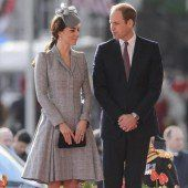 William und Kate zu Besuch in New York