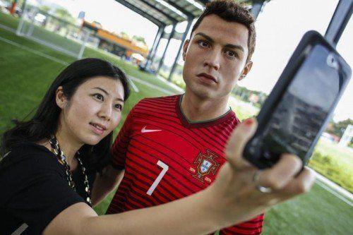 Real-Madrid-Star und Social-Media-König Cristiano Ronaldo nützt wie viele andere Sportler die verschiedenen Netzwerke. Foto: reuters