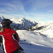 Schon ein einzelner Skifahrer reicht