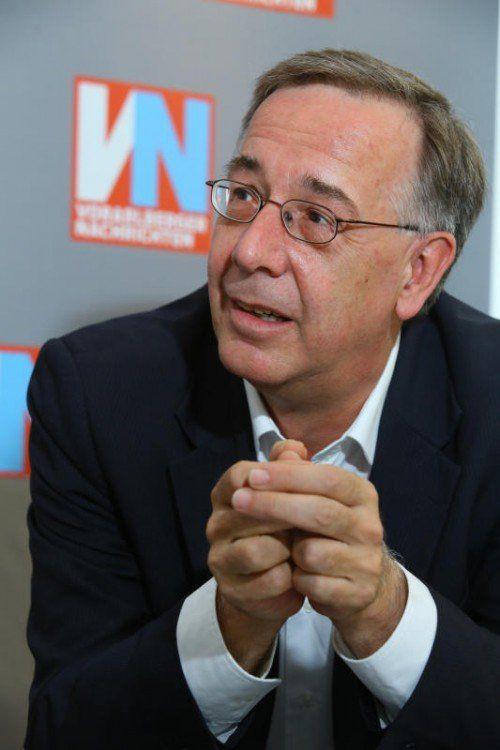 Theodor Thanner hat einen Fokus auf den Handel.  VN/Hofmeister