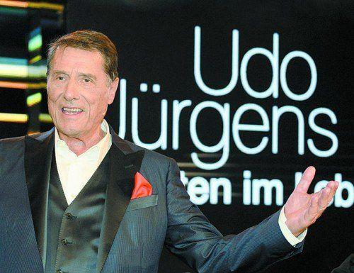 Udo Jürgens ist am Sonntag im Alter von 80 Jahren verstorben. Foto: EPA