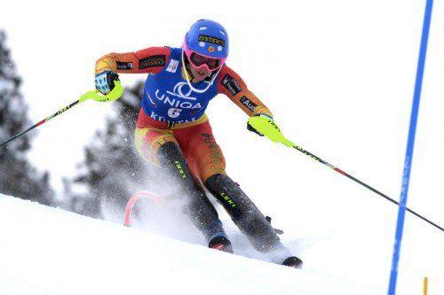 Veronika Velez-Zuzulova zeigte, dass sie schnell sein kann.  epa