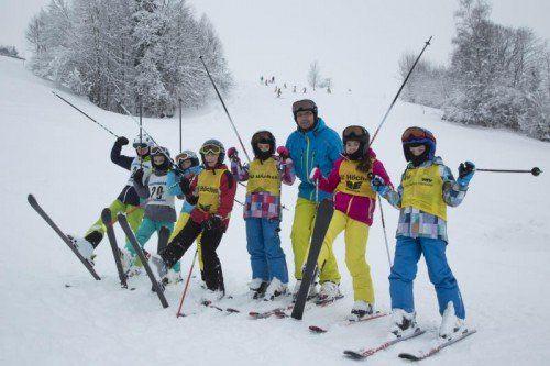 Winter Wetter Schnee Wintereinbruch Feature Skiverein Höchst