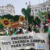 Ringen um Klimaschutz