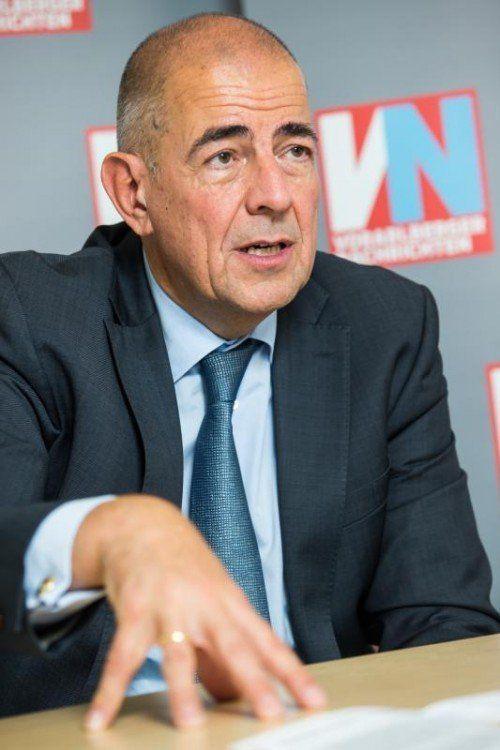 Zumtobel-CEO Ulrich Schumacher hat Pläne.  Foto: VN