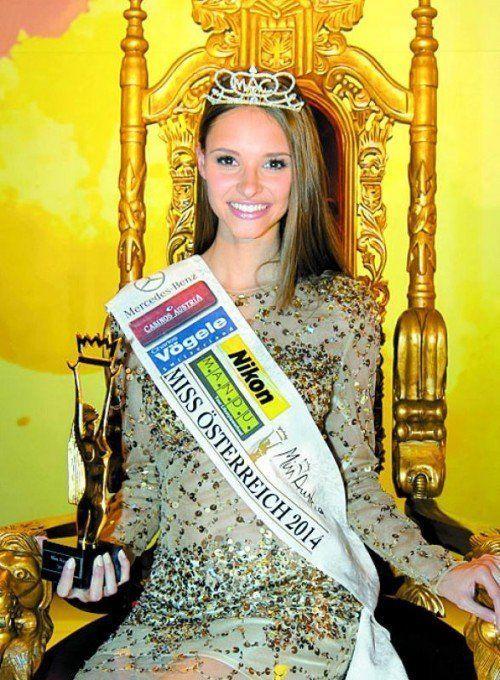 2014 wurde Julia Furdea aus Oberösterreich zur Miss Austria gewählt.  Foto: APA