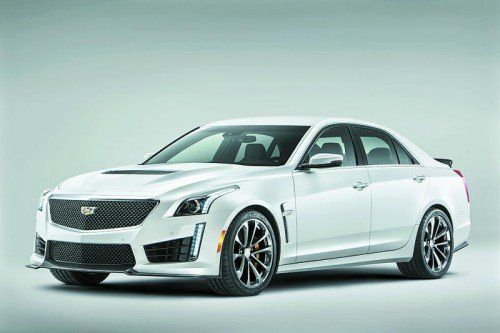 649 PS, 3,7 Sekunden auf Tempo 100: Cadillac CTS-V. Foto: werk