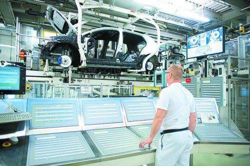 836.000 Autos wurden in Wolfsburg produziert. Foto: werk