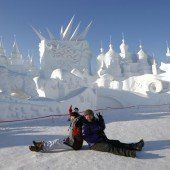 Eisfestival in Harbin