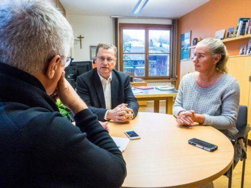 """""""Als parteipolitischer Bürgermeister würde ich niemals zur Verfügung stehen"""": Gemeindechef Bechtold im VN-Gespräch."""
