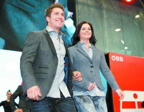 Anna Fenninger und Marcel Hirscher gelten bei der Ski-WM in Vail/Beaver Creek als österreichische Medaillengaranten. Foto: gepa