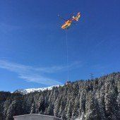 Lawine riss am Arlberg zwei Urlauber in den Tod