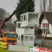Bauarbeiten im Reichshofstadion haben begonnen