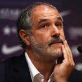 Barca trennt sich von der Sportführung