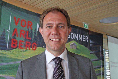 Christian Schützinger: Für Tourismus vorteilhaft. Foto: Bühler
