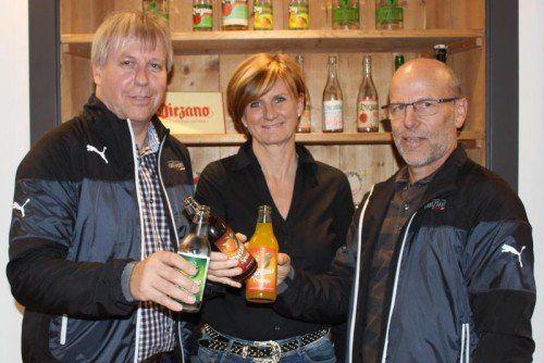 Christoph Neyer, Sabine Treimel und Conny Berchtold (v. l.). Foto: Privat