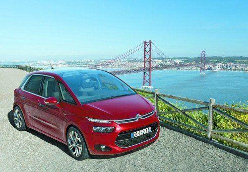 Citroën C4 Picasso: Jetzt mit einem kleinen Face- und einem größeren Technik-Lifting aktualisiert.