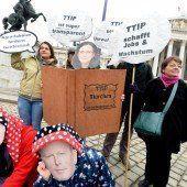 Die Fronten im Streit um TTIP bleiben verhärtet